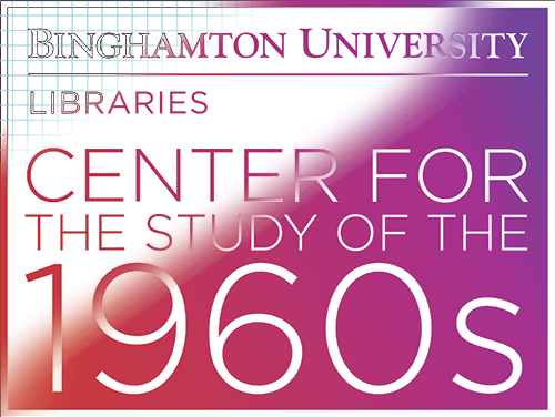 Image showing the gradual formation of the Center for the Study of the 1960s logo
